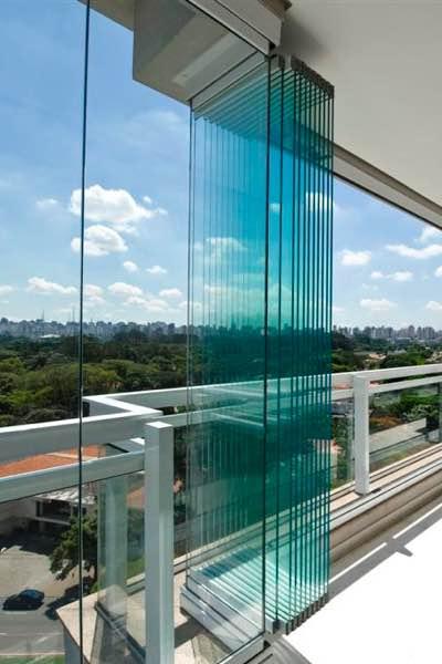 Frameless Folding Glass Doors Grecoline